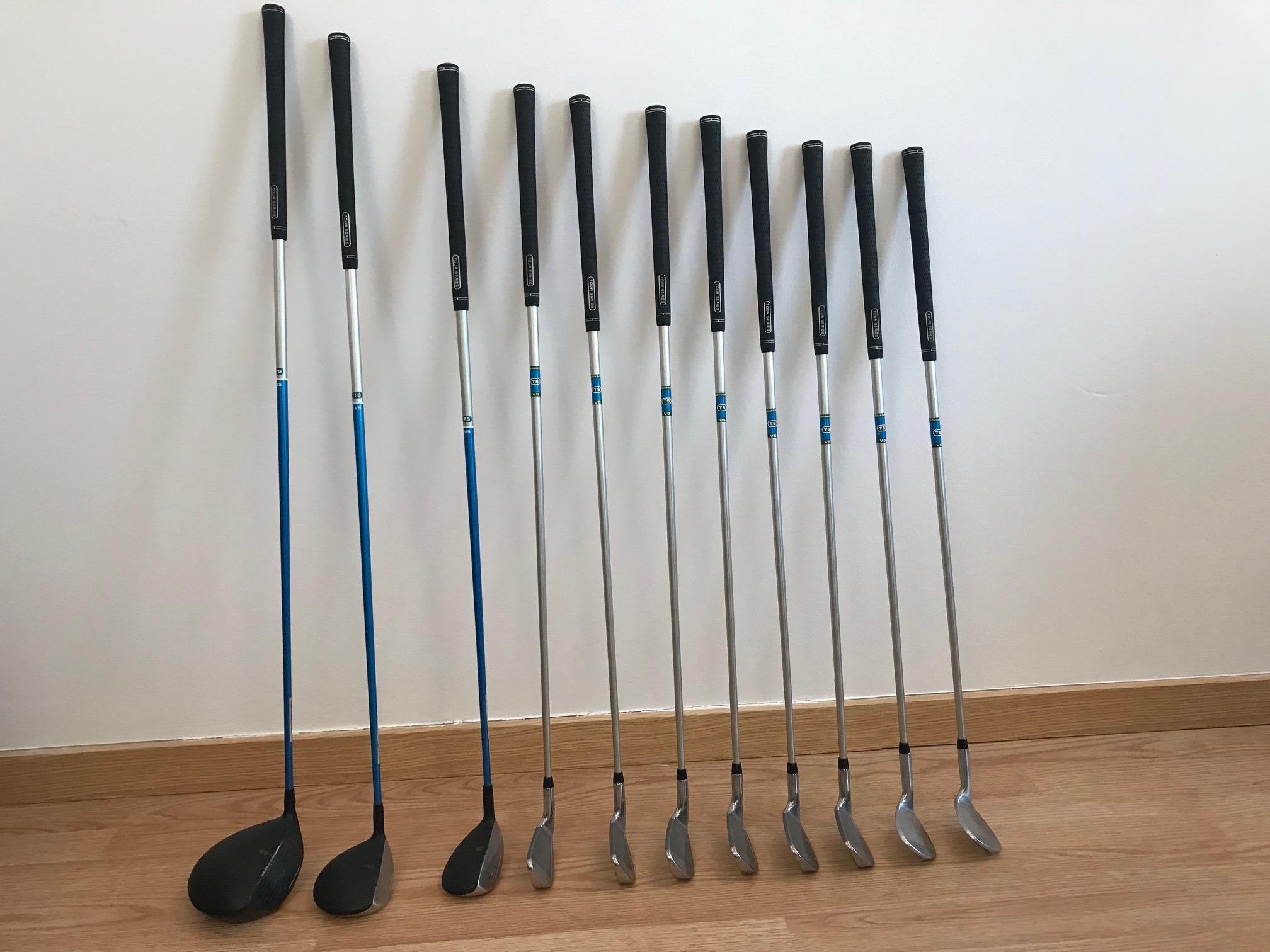 a96b02415 Set de Golfe completo US Kids Golf Tour Series 57